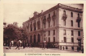 CONSTANTINE , Algeria , Postes et telegraphes , 00-10s
