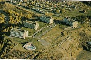 CALGARY , Alberta , Canada , 1950-60s ; Rideau Towers