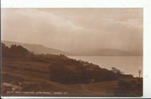 Dorset Postcard - Hazy Morning - Lyme Regis - Ref 7059A