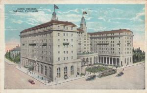 OAKLAND , California, 1910's; Hotel Oakland