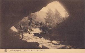 Gouffre De Belvaux, Vue Interieure, Grottes De Han, Belgium, 1900-1910s
