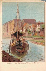 Germany Beautiful Rare Postcard Lot of 7 Wiesbaden Heidelberg and more   01.19