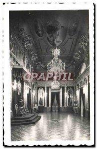 Pamplona Old Postcard Salon Diputación det Trono todo