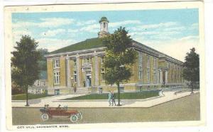 Exterior, City Hall, Leominster, Massachusetts, PU_00-10s