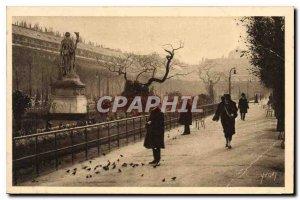 Postcard Old Paris Jardin du Palais Royal