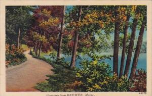 Greetings From Brewer Maine 1942