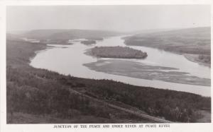 RP, Junction Of The Peace And Smoky River At Peace River, Canada, 1920-1940s
