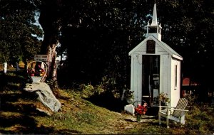 Maine Wiscosset Union Church Smallest Church In The World