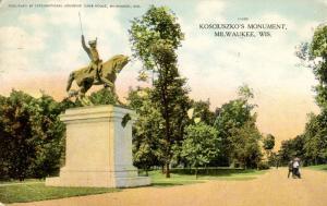 WI - Milwaukee. Kosciuszko's Monument