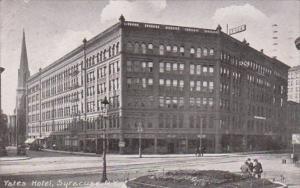 New York Syracuse The Yates Hotel 1908