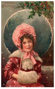 Christmas Woman  Dressen, Hand Warmers