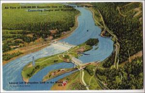 Bonneville Dam, Columbia River, OR - WA