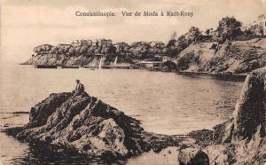 Turkey Constantinople Vue de Moda a Kadi-Keuy