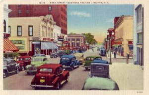NASH STREET (BUSINESS SECTION) WILSON, NC