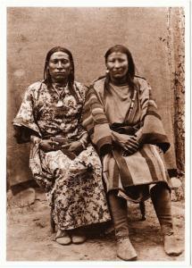 Osh-Tisch Squaw Jim Crow Berdache Transvestite Native American Modern Postcard