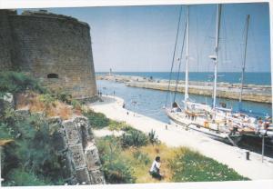 Harbor, Sail Boats, KYRENIA, Cyprus, 50-70's