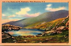 New Hampshire White Mountains Lake Of The Clouds and Mt Washington