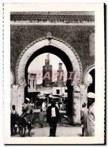 Postcard Modern Morocco
