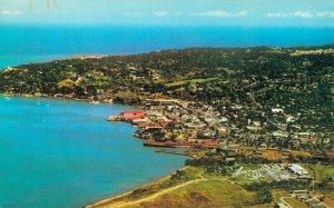 Jamaica Aerial View of Montego Bay Vintage Postcard 07.32