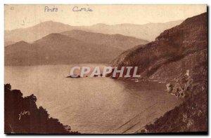 Porto Corsica Corsica The head of the Gulf Old Postcard