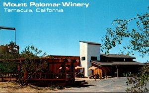 California Temecula Mount Palomar Winery Picnic Area