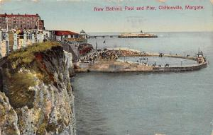 Margate Cliftonville New Bathing Pool and Pier 1932