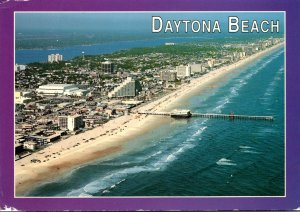 Florida Daytona Beach Aerial View 1994