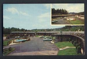 Asherville, North Carolina/NC Postcard, Mountaineers Court