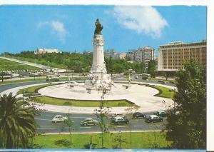 Postal 032572 : Lisboa (Portugal). Place du Marquis de Pombal
