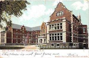 St. Lukes Home & Hospital Utica NY 1906
