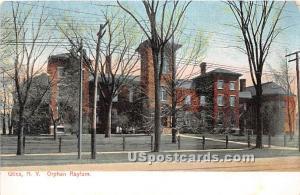 Orphan Asylum Utica NY Unused