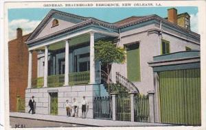 Louisiana New Orleans General Beauregard Residence
