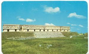 Mexico, The Governor's Palace, Uxmal, Yucatan, unused Postcard