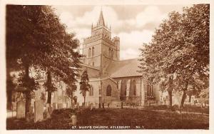 Aylesbury, St Mary's Church Cemetery Eglise Kirche