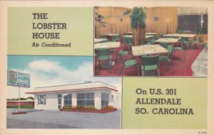 South Carolina Allendale Lobster House Restaurant Interior View sk617