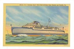 Ferry Boat S.S.PRINCESS ANNE, Norfolk, Virginia, 30-40s