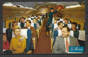 American Airlines DC-7 Mercury Main Cabin