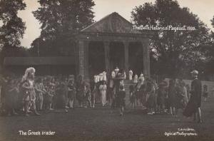 The Greek Trader 1909 Bath Pageant Old RPC Real Photo Postcard