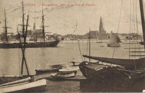 Belgium Anvers Vue génerale prise de la Téte de Flandre 03.06