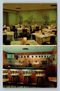 Vicksburg MS- Mississippi, Magnolia Motor Hotel & Restaurant, Chrome Postcard