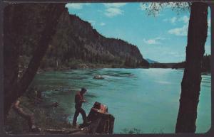 Gibson's River Delta Resort,Clark Fall,ID Postcard BIN