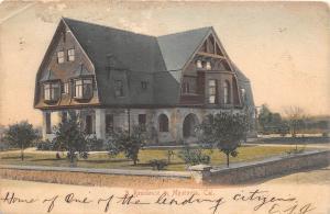 D85/ Monrovia California Ca Postcard 1906 Residence Home