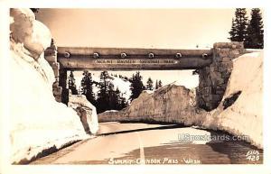 Summit Chinook Pass