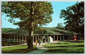 Caulfield Missouri~Cloud 9 Ranch Trading Post~Pepsi Vending Machine~Ice~1973 PC