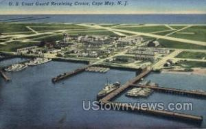 Us Coast Card Receiving Center  Cape May NJ 1953