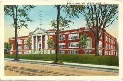 High School , Greenfield , Massachusetts, PU-1925