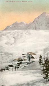 AK - Mining Camp in Winter