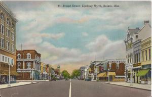 Selma AL - famous BROAD STREET. 1940s