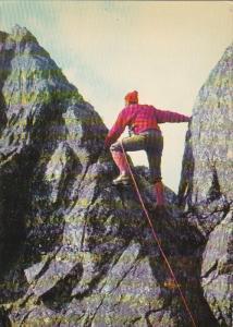 Climbing ; Tatry Wysokie , Na grani , Poland , 60-70s