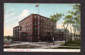 ME Bangor House Hotel BANGOR MAINE POSTCARD 1910 PC